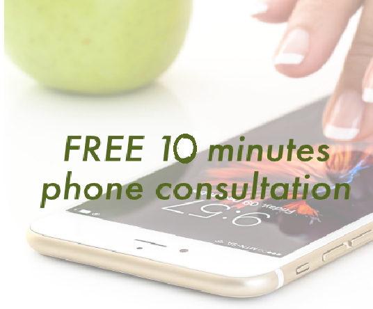 10 Minutes free phone Consultation