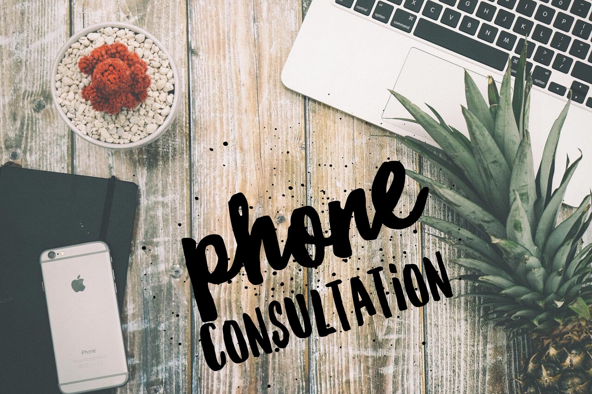 30 Minutes Phone Consultation